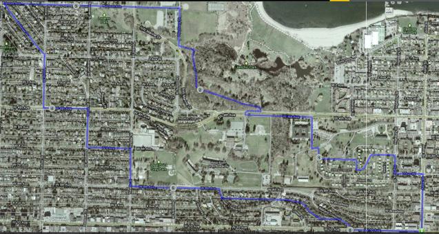 Van Map Route