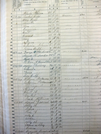 Peterson, 1850 Census